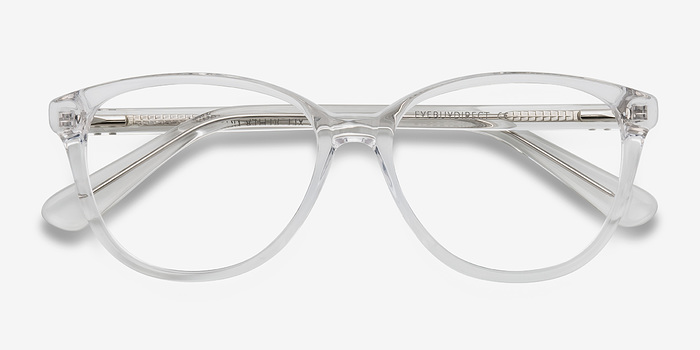 full screen - White Frame Glasses