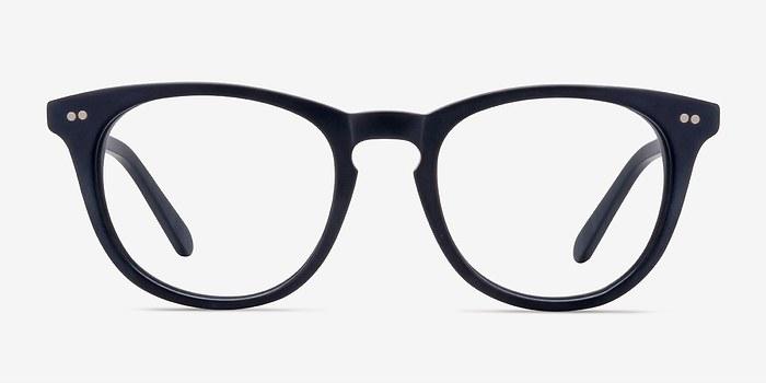Matte Navy Providence -  Fashion Acetate Eyeglasses