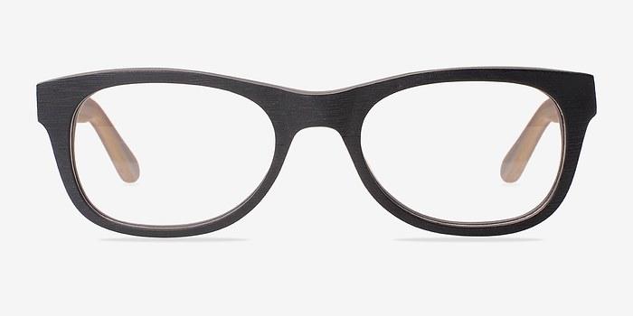 Black Little Panama -  Classic Acetate Eyeglasses