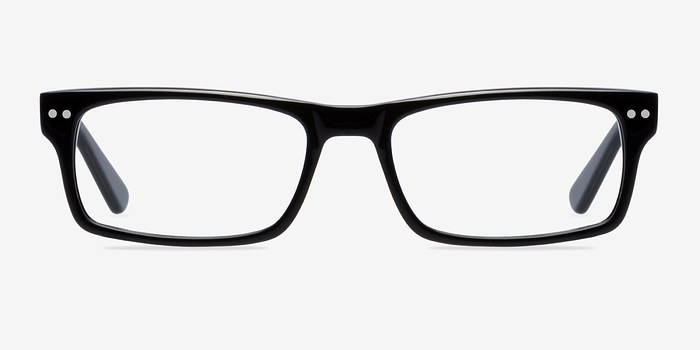vancouver black acetate eyeglasses eyebuydirect