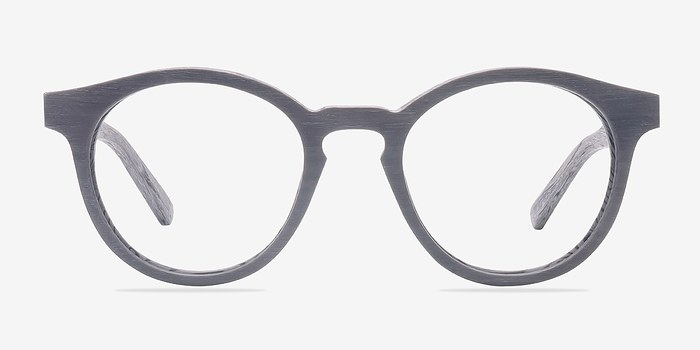 Gray Breeze -  Colorful Wood Texture Eyeglasses