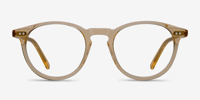Clear Yellow  Kyoto -  Acetate Eyeglasses