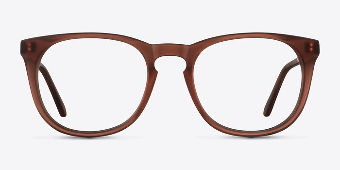 Matte Brown Providence M -  Geek Acetate Eyeglasses