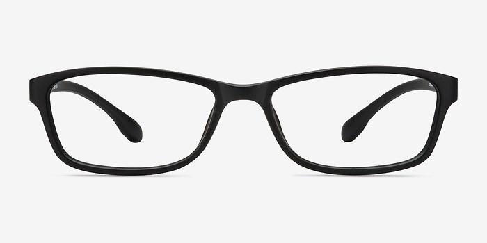 Matte Black Versus -  Classic Plastic Eyeglasses