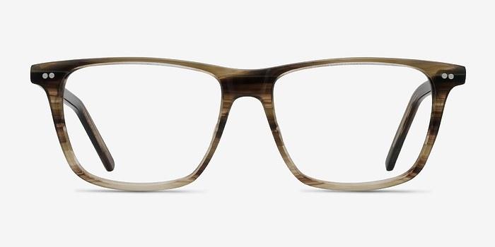 Striped Default -  Acetate Eyeglasses