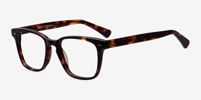 EyeBuyDirect Samson Tortoise Acetate Eyeglasses
