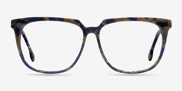Blue Floral Capucine -  Fashion Acetate Eyeglasses