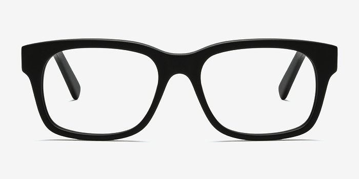 Matte Black Lynch -  Acetate Eyeglasses