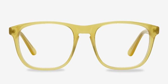 Yellow Damien -  Acetate Eyeglasses