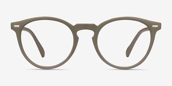 Matte Green Peninsula -  Geek Plastic Eyeglasses