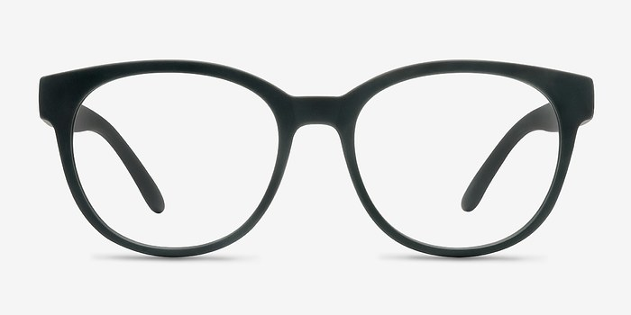 Matte Green Grace -  Fashion Plastic Eyeglasses