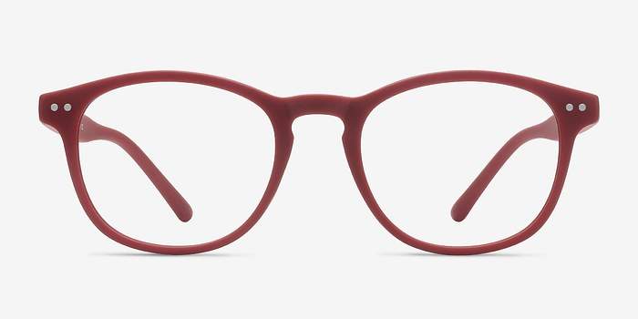 Red Little Crush -  Colorful Plastic Eyeglasses