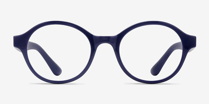 Navy Little Plato -  Plastic Eyeglasses
