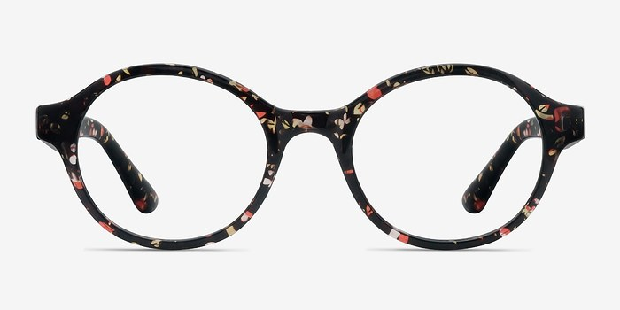 Floral Little Plato -  Plastic Eyeglasses