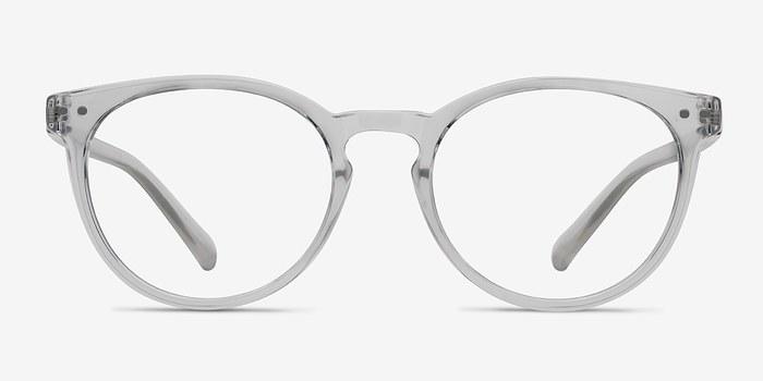 morning clear plastic eyeglasses