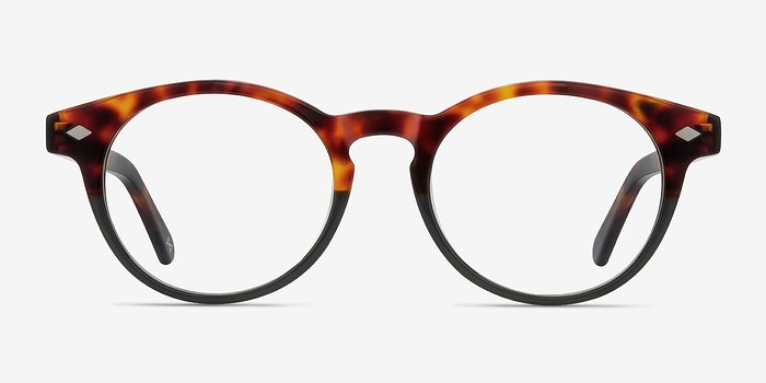 Olive Tortoise Concept -  Acetate Eyeglasses