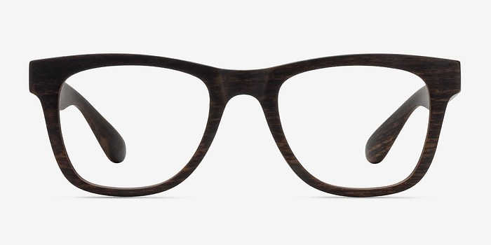 Brown Striped Project -  Plastic Eyeglasses