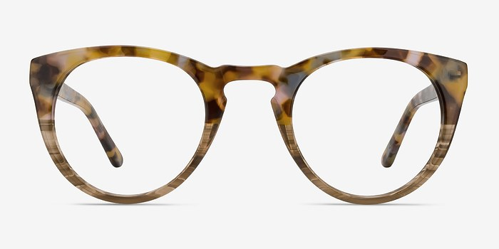 Savanna floral Lynx -  Acetate Eyeglasses