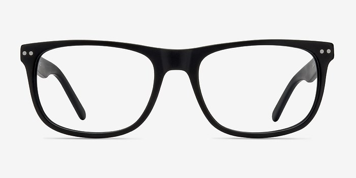 Matte Black Koi -  Acetate Eyeglasses