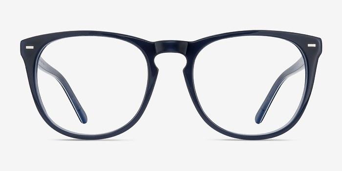 Navy Divina -  Acetate Eyeglasses