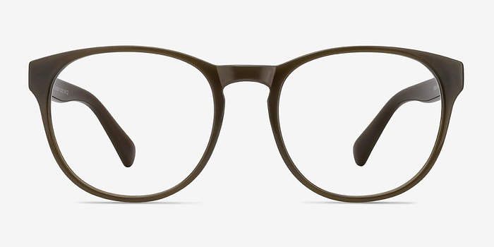 Dark Brown Heartbeat -  Plastic Eyeglasses