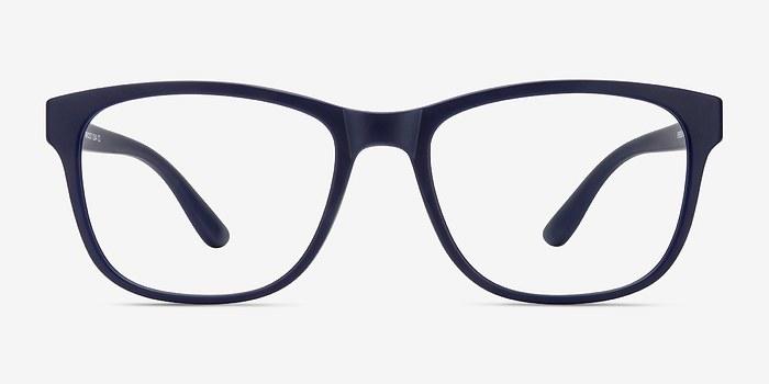 Matte Navy Milo -  Plastic Eyeglasses