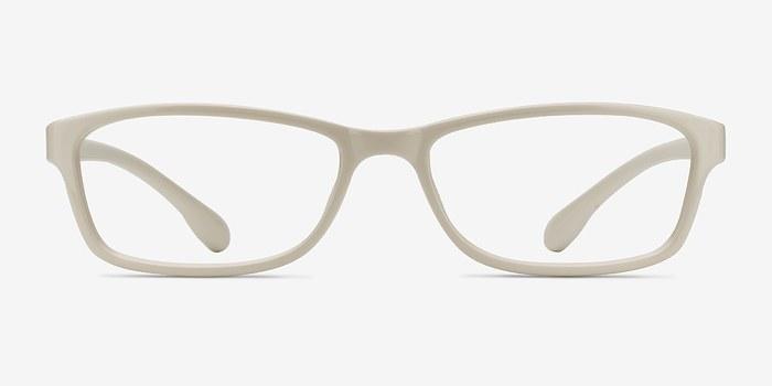 White Versus -  Plastic Eyeglasses