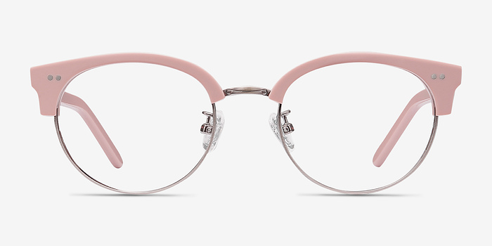 Glasses Frames Free Try On : Annabel Pink Women Acetate Eyeglasses EyeBuyDirect