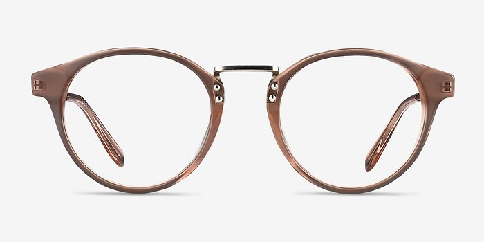 Brown/Silver Get Lucky -  Fashion Acetate Eyeglasses