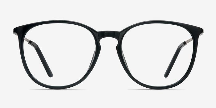 Black Naomi -  Metal Eyeglasses