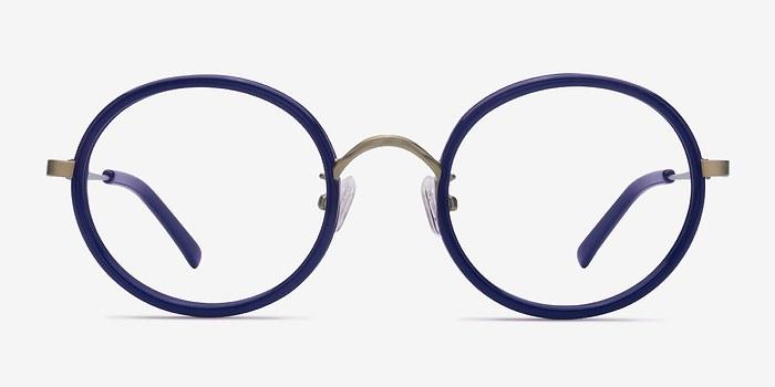 Navy Gemini -  Designer Acetate Eyeglasses