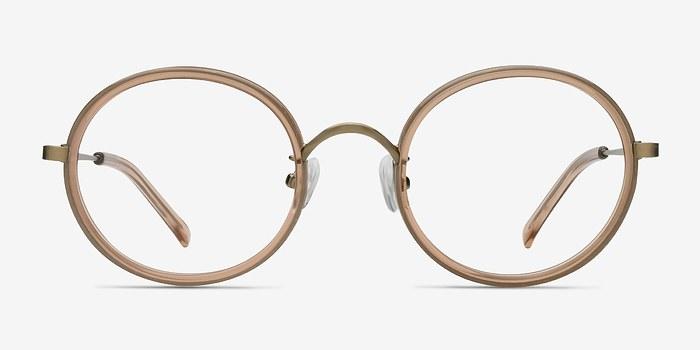 Light Brown Gemini -  Designer Acetate Eyeglasses