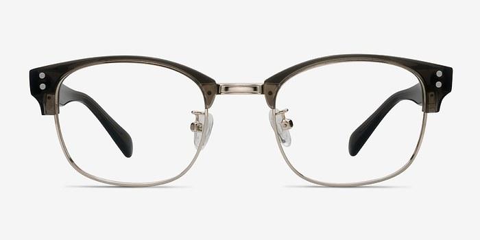 Clear Gray Look Up -  Designer Acetate Eyeglasses