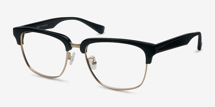 EyeBuyDirect Arcade Black Acetate Eyeglasses