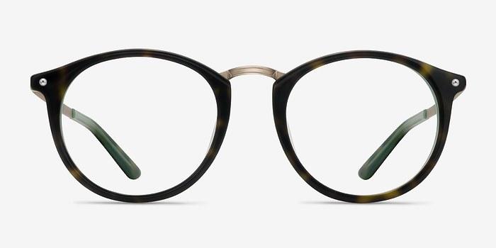 Tortoise Green La Femme -  Designer Acetate Eyeglasses