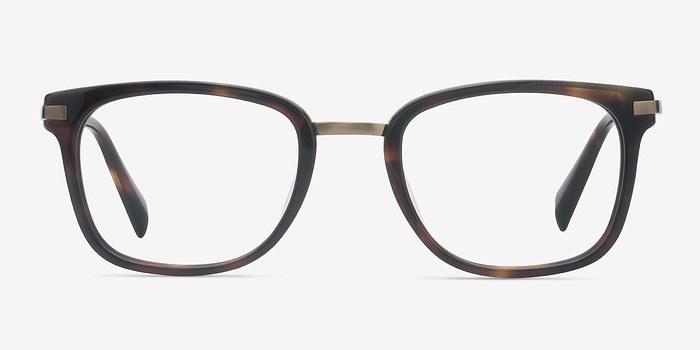 Dark Tortoise Audacity -  Designer Acetate Eyeglasses