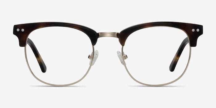 Tortoise Borderline -  Geek Acetate Eyeglasses