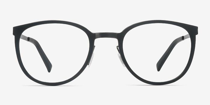 Black Alpha -  Acetate Eyeglasses