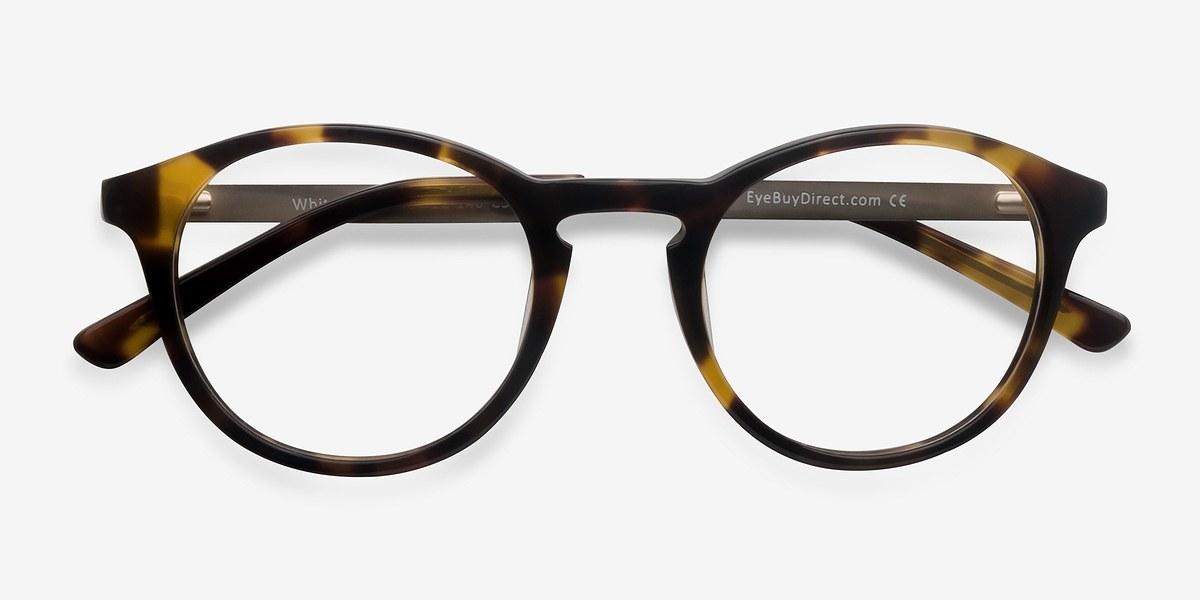 Try On Different Glasses Frames : White Moon Tortoise Acetate Eyeglasses EyeBuyDirect