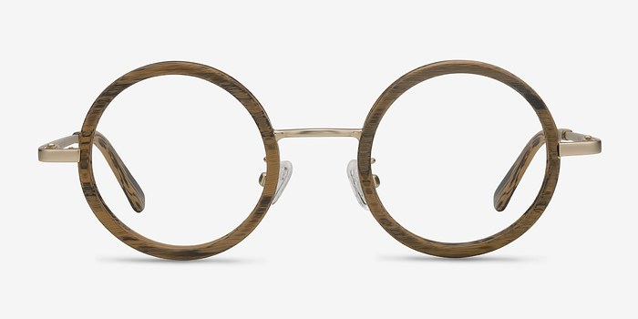 Brown Roaring -  Designer Wood Texture Eyeglasses