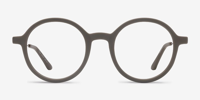 Matte Green Potter -  Classic Metal Eyeglasses