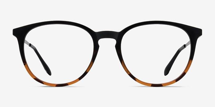 Black Tortoise Gracious -  Metal Eyeglasses