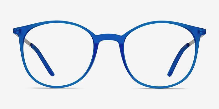 Bleu Tangent -  Métal Lunettes de Vue