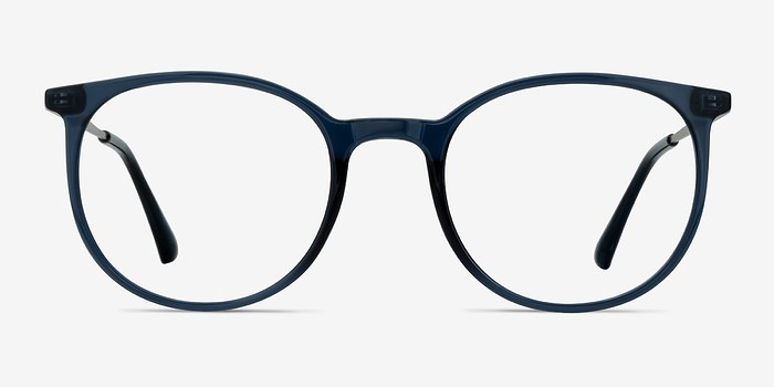 Clear Cobalt Marilou -  Plastic Eyeglasses