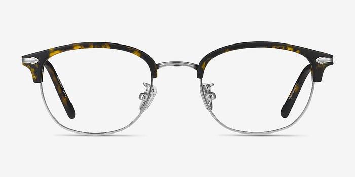 Tortoise Links -  Vintage Metal Eyeglasses