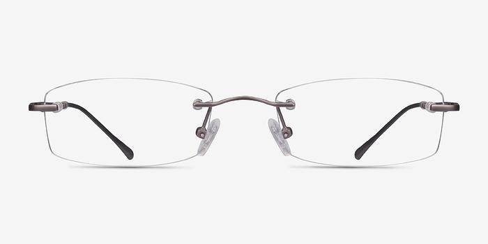 Gunmetal Connie -  Lightweight Metal Eyeglasses
