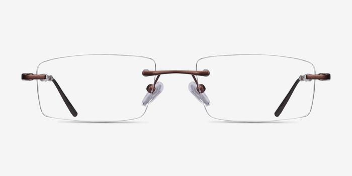 Coffee Bentlee -  Lightweight Metal Eyeglasses