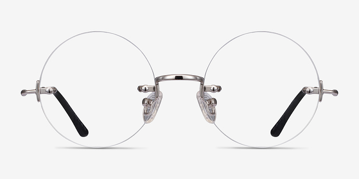 Silver Palo Alto -  Designer Metal Eyeglasses