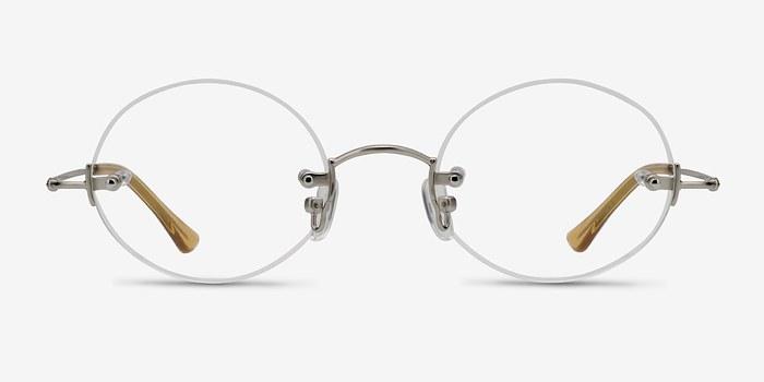 Silver  Silver Line -  Lightweight Metal Eyeglasses