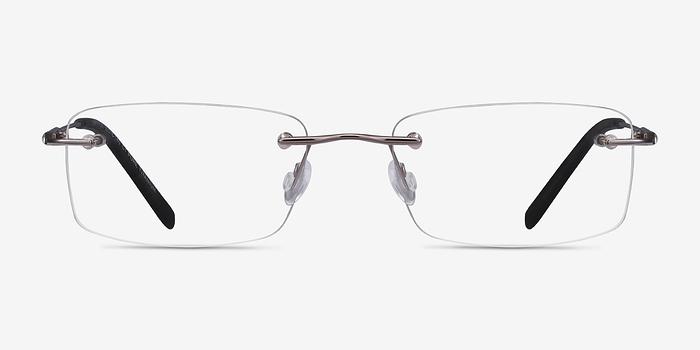 Gunmetal Dimension -  Designer Titanium Eyeglasses